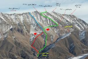 صعود به قله سرکچال