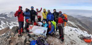 گزارش صعود قله برف انبار