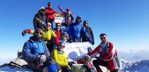 صعود به قله دومیر