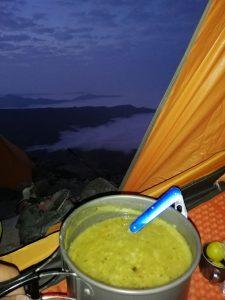بهترین شام کوهنوردی
