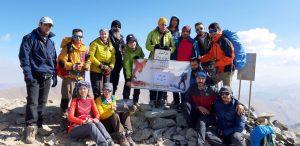 قله خلنو بلندترین قله استان تهران