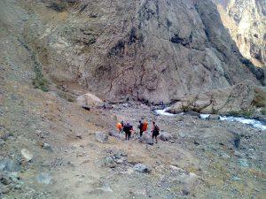 چشمه تلخ آب روستای لالان